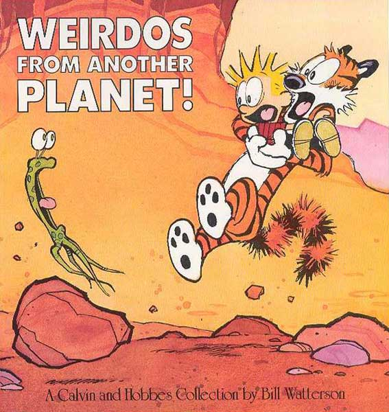 Image: Calvin & Hobbes: Weirdos From Another Planet SC  -