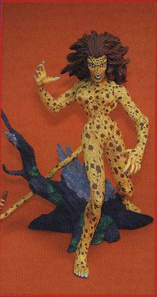 Image: DC Action Figure: Cheetah  -
