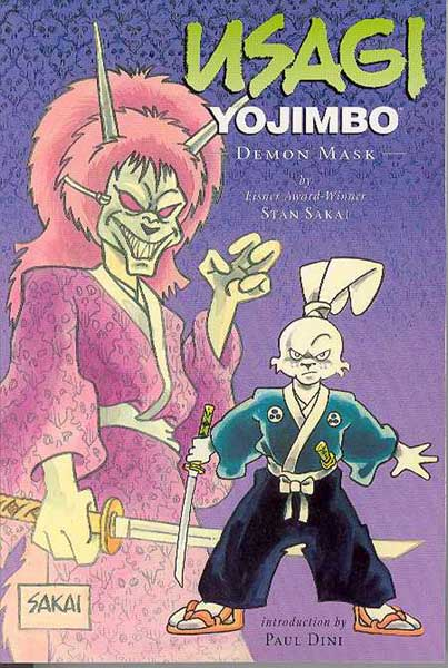 Image: Usagi Yojimbo Vol. 14: Demon Mask SC  - Dark Horse Comics