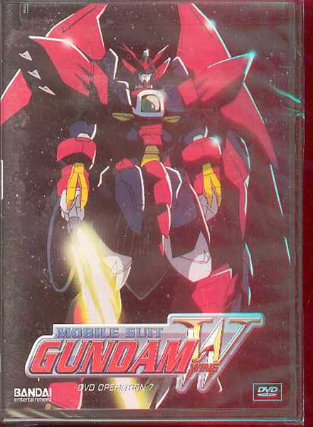Image: Mobile Suit Gundam Wing Operation 7 DVD  -