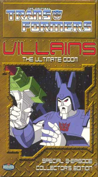 Image: Transformers Villains DVD  -