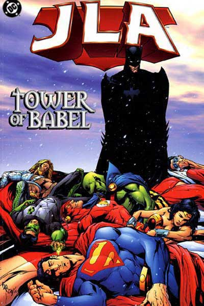 Image: JLA Vol. 07: Tower of Babel SC  - DC Comics