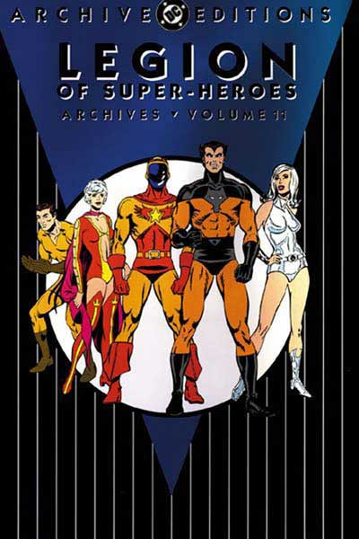 Image: Legion of Super-Heroes Archives Vol. 11 HC  - DC Comics
