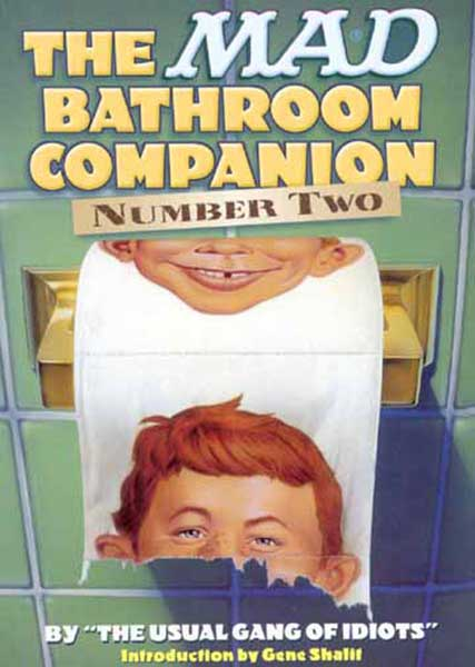 Image: Mad Bathroom Companion Vol. 02 SC  - DC Comics