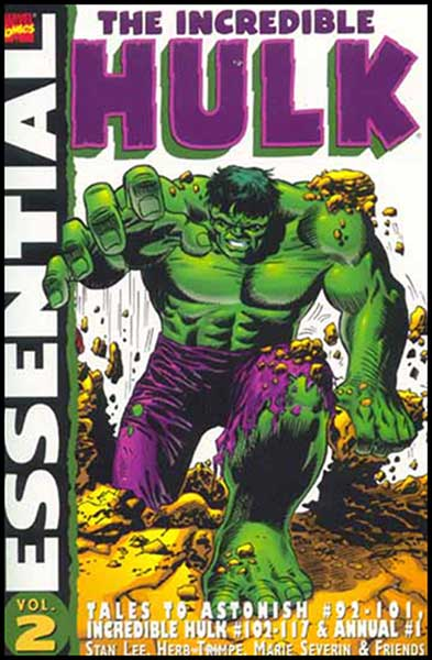 Image: Essential Incredible Hulk Vol. 02 SC  - Marvel Comics