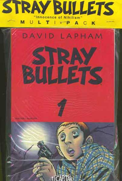 Image: Stray Bullets Pack 1: The Innocence of Nihilism  - El Capitan