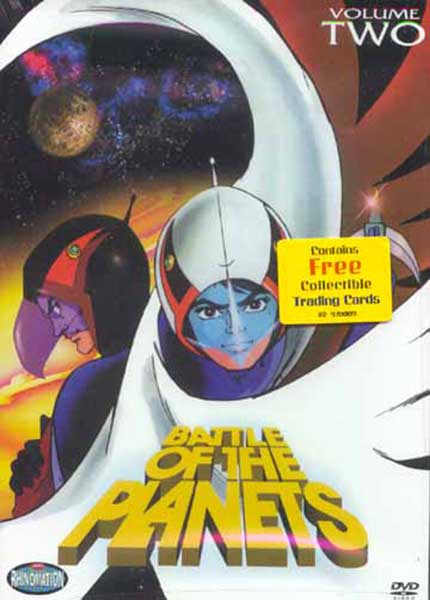 Image: Battle of the Planets Vol. 02 DVD  -