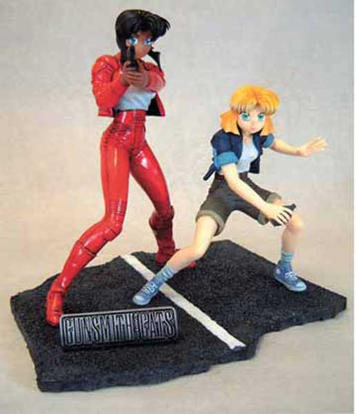 Image: Gunsmith Cats Statue  - Dark Horse Comics