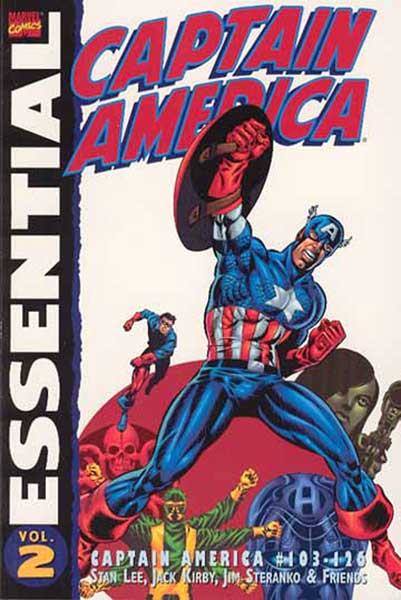 Image: Essential Captain America Vol. 02 SC  - Marvel Comics