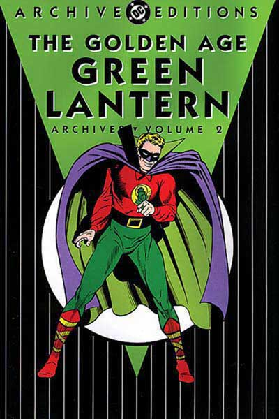 Image: Golden Age Green Lantern Archives Vol. 02 HC  - DC Comics
