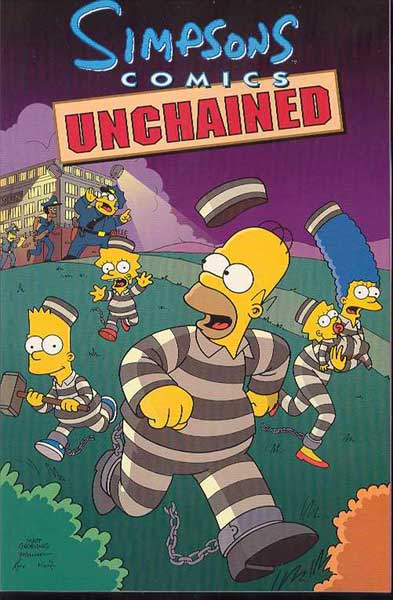 Image: Simpsons Unchained SC  - Bongo Comics