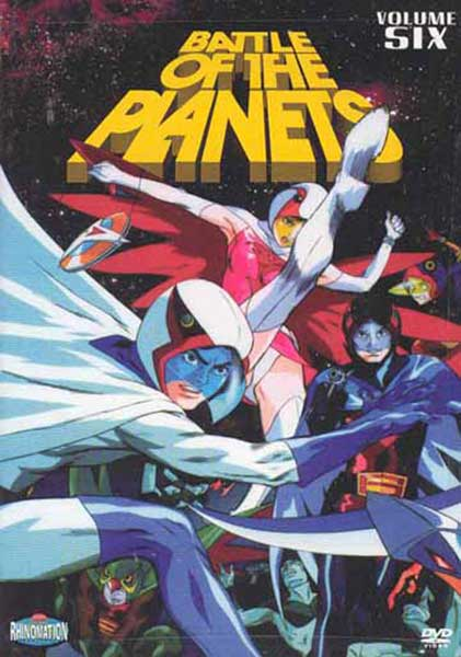 Image: Battle of the Planets Vol. 06 DVD  -