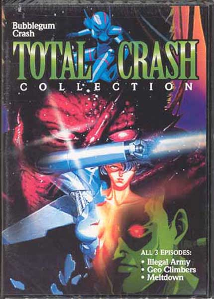 Image: Bubblegum Crash: Total Crash Collection DVD  -
