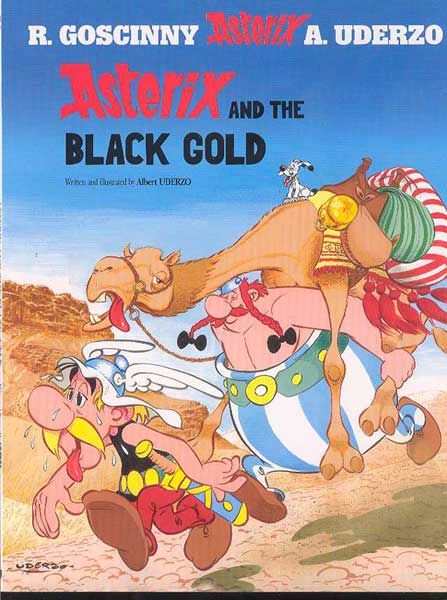 Image: Asterix and the Black Gold SC  - Sterling Publishing