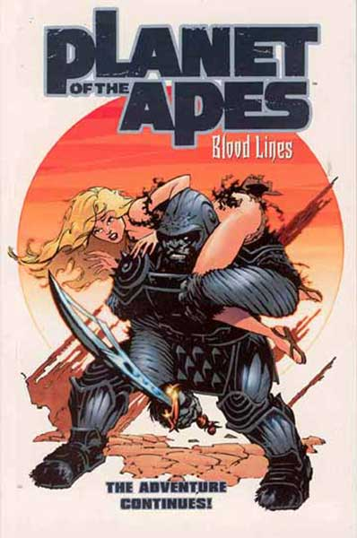 Image: Planet of the Apes Vol. 02: Bloodlines SC  - Dark Horse Comics
