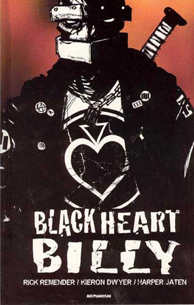 Image: Black Heart Billy SC  - Amaze Ink/Slave Labor Graphics