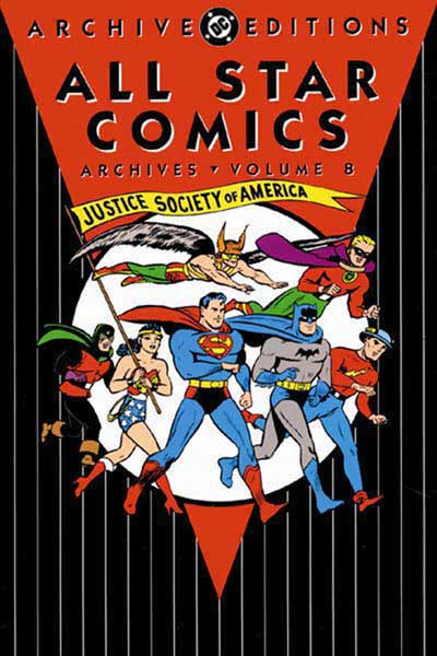 Image: All Star Comics Archives Vol. 08 HC  - DC Comics