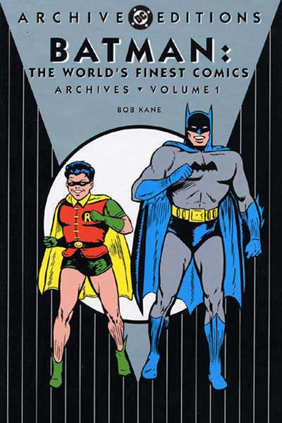 Image: Batman in World's Finest Archives Vol. 01 HC  - DC Comics