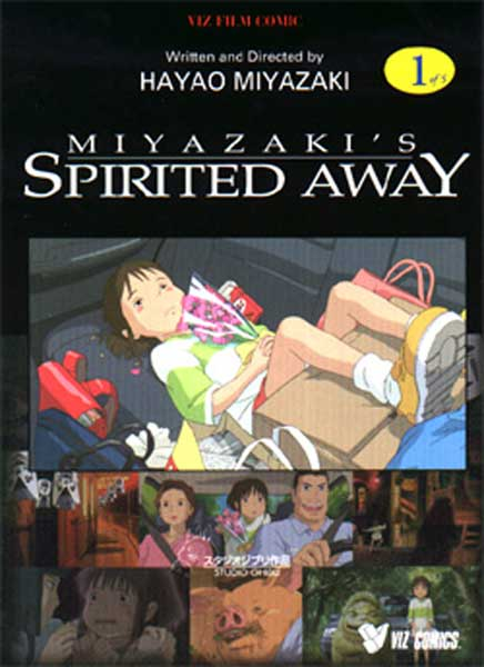 Image: Spirited Away Vol. 01 SC  - Viz Media LLC