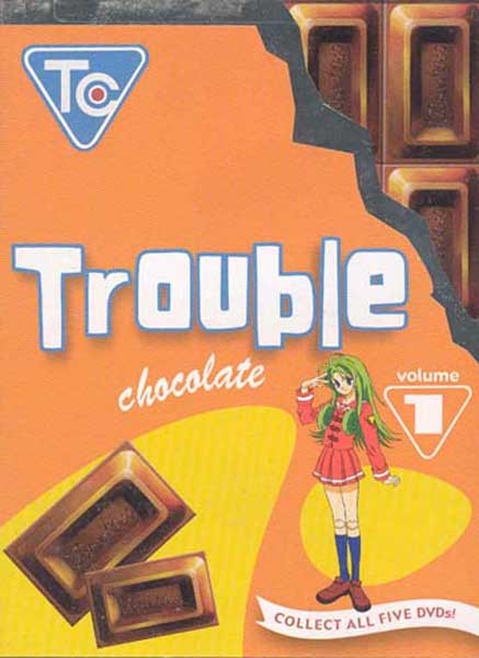 Image: Trouble Chocolate Vol. 1 DVD  -