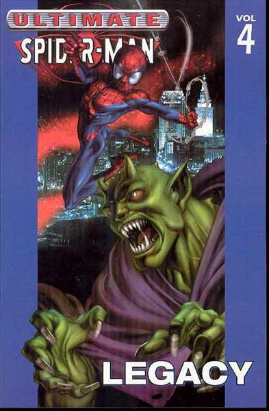 Image: Ultimate Spider-Man Vol. 04: Legacy SC  - Marvel Comics