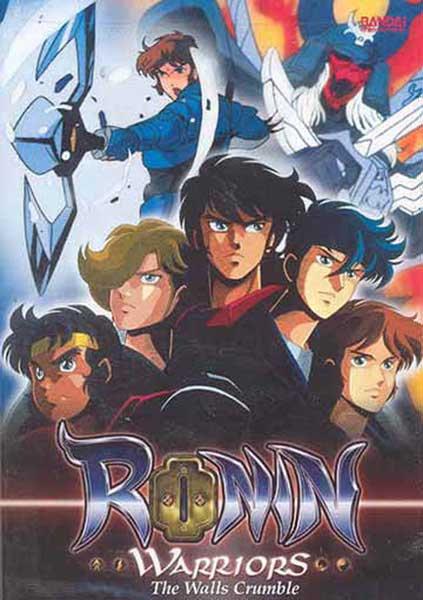 Image: Ronin Warriors Vol. 9: The Walls Crumble DVD  -