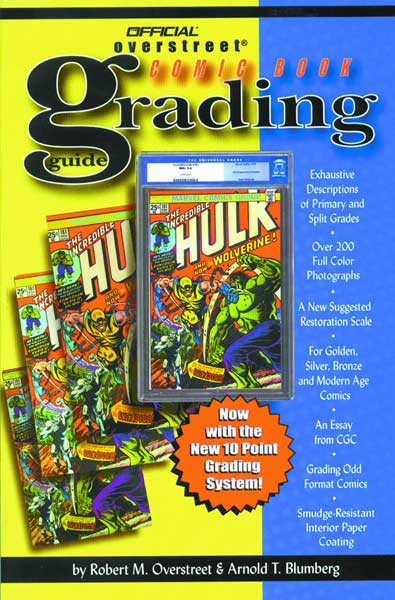 Image: Overstreet Comic Book Grading Guide - New Edition SC  - Gemstone Publishing