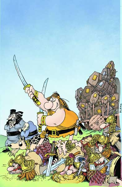 Image: Groo: Death & Taxes SC  - Dark Horse Comics