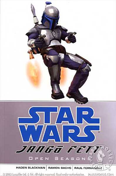 Image: Star Wars: Jango Fett - Open Seasons SC  - Dark Horse Comics