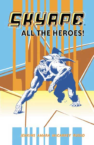 Image: Sky Ape: All the Heroes SC  - AIT/Planetlar