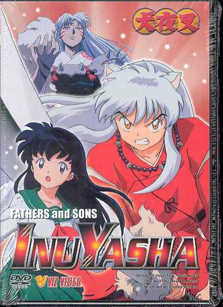 Image: Inuyasha Vol. 3: Fathers & Sons DVD  -