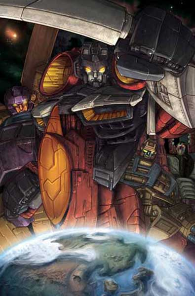Image: Transformers Poster: Armada #3 Cover  - Dreamwave