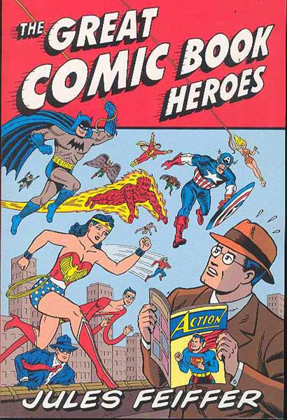 Image: Great Comic Book Heroes SC  - Fantagraphics Books