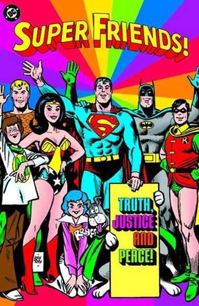 Image: Super Friends!: Truth, Justice & Peace SC  - DC Comics