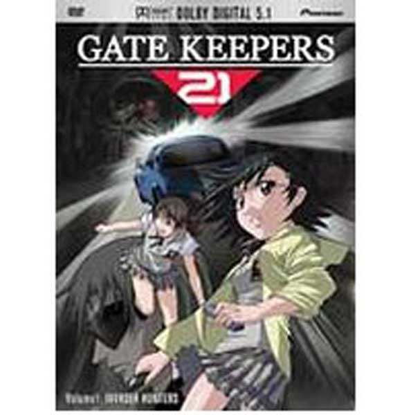 Image: Gate Keepers 21 Vol. 01: Invader Hunters DVD  -