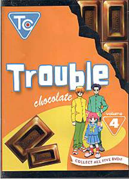 Image: Trouble Chocolate Vol. 4 DVD  -