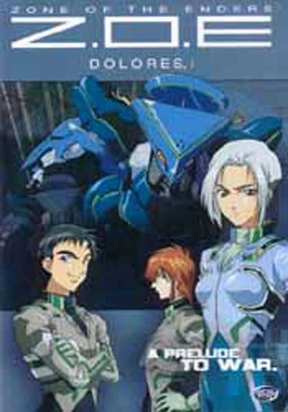 Image: Zone of the Enders: Dolores Vol. 3: A Prelude To War DVD  -