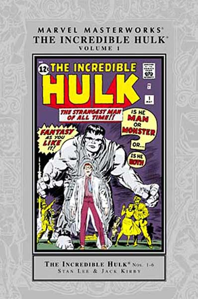 Image: Marvel Masterworks: Incredible Hulk Vol. 01 HC  - Marvel Comics