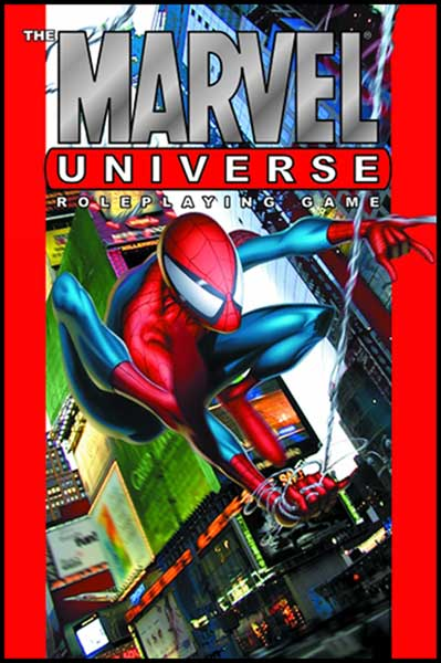 Image: Marvel Universe Roleplaying Game Guide HC  - Marvel Comics