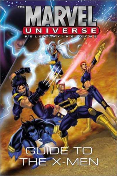 Image: Marvel Universe RPG: Guide to the X-Men HC  - Marvel Comics