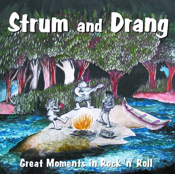 Image: Strum & Drang: Great Moments in Rock & Roll SC  - Alternative Comics