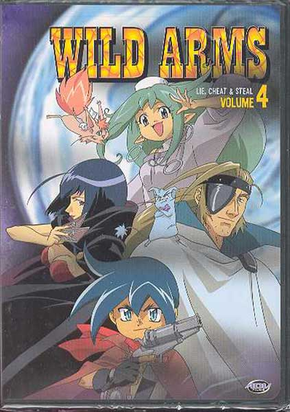 Image: Wild Arms Vol. 4: Lie, Cheat & Steal DVD  -