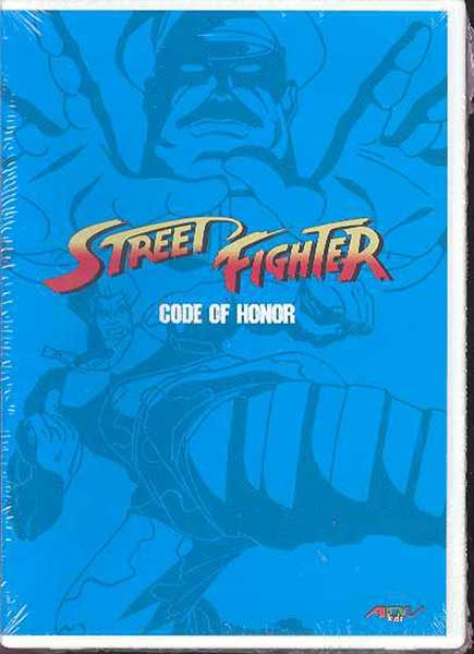 Image: Street Fighter Collection 1: Code of Honor DVD  -