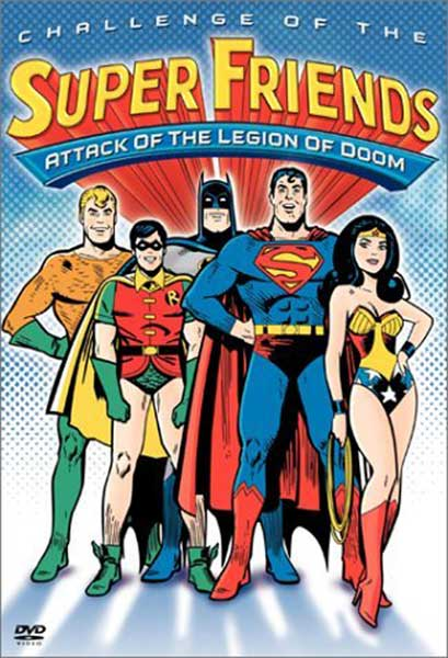 Image: Super Friends!: Attack of the Legion of Doom DVD  -
