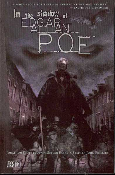 Image: In the Shadow of Edgar Allan Poe HC  - DC Comics