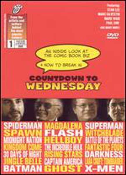 Image: Countdown to Wednesday: Inside Look at the Comic Biz DVD  -