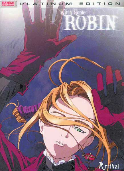 Image: Witch Hunter Robin Vol. 01 DVD  -