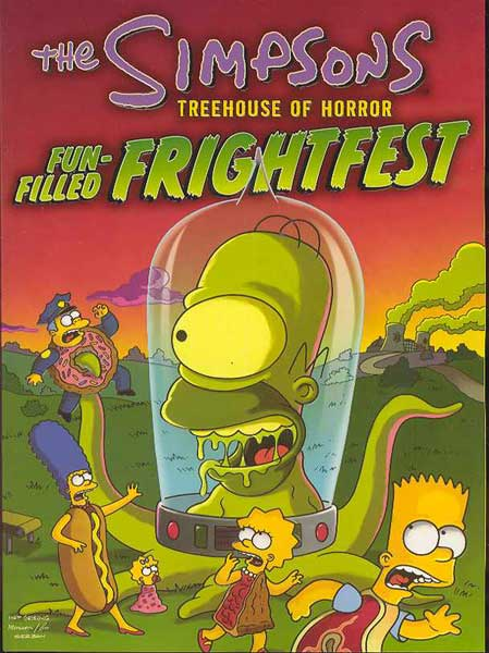Image: Simpsons: Treehouse of Horror Fun-Filled Frightfest SC  -