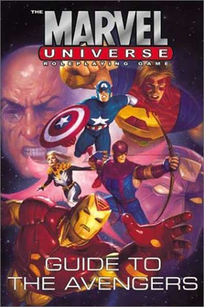 Image: Marvel Universe RPG: Guide to the Hulk & the Avengers HC  - Marvel Comics
