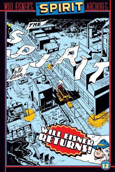 Image: Will Eisner's Spirit Archives Vol. 12 HC  - DC Comics